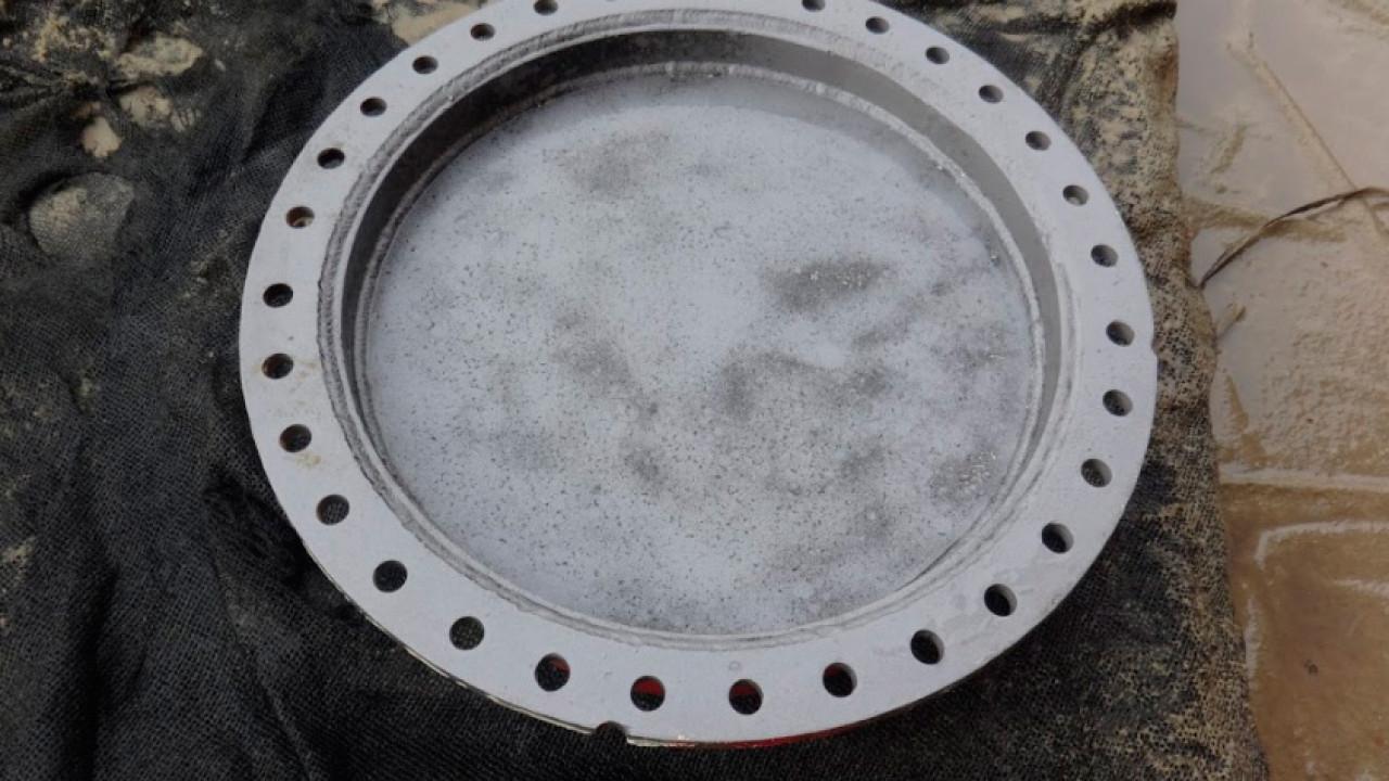 Hidroarenado tapa de Estanque