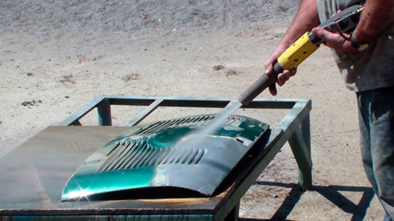 Hidroarenado para restauración automóviles
