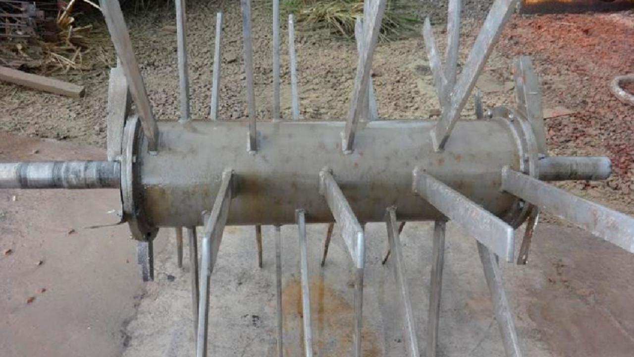 Limpieza y retiro de pintura en rotor metálico